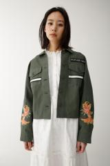 MOUSSY WIDE SLEEVE DECORATION SH 010BSA30-3040