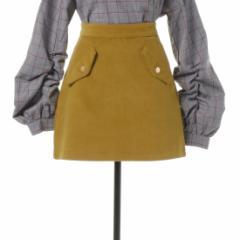 REDYAZEL シンプル台形ミニスカート 20021812200032