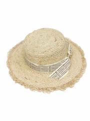 SPIGA リボン付カンカン帽 ACC1804-025