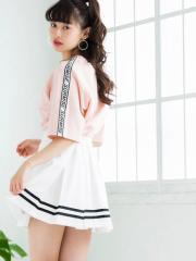 WEGO ラインBOXプリーツスカート BS18SM04-L013