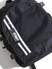 WEGO チャーム付メッシュポケットムジリュック BR18SM06-LG0007