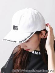 WEGO 別注MTVロゴキャップ MC18SM07-LG0004