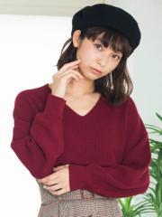 WEGO Vネックセーター BS18AU09-L002