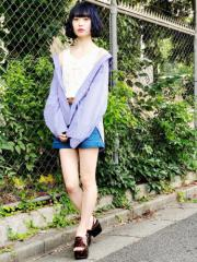 【SALE】 WEGO BIGシャツ BS18AU08-L008