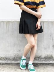 WEGO プリーツミニスカート BS18AW08-L001