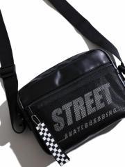 WEGO チャーム付STREETショルダー BR18AU10-LG0019