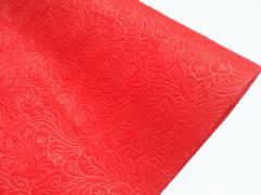 ラビアンフラワーロール 不織布 ポリエステル フラワーアレンジ ギフト 贈り物 等のラッピングに 75cm x 10m ディープレッド 20本セット