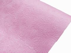 ラビアンフラワーロール 不織布 ポリエステル フラワーアレンジ ギフト 贈り物 等のラッピングに 75cm x 10m ピンク 20本セット