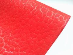 ストーン柄ロール 不織布 ポリエステル フラワーアレンジ ギフト 贈り物 等のラッピングに 75cm x 10m ディープレッド 20本セット