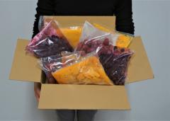 訳あり 冷凍フルーツ 詰合せ 4種 大容量 大盛 計4キロ マンゴー マンゴーピューレ ストロベリー ブルーベリー 各500g×2P 送料無料 冷凍