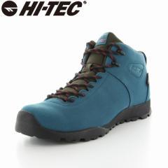 〔10%OFFクーポン配布中☆8/1まで〕送料無料 ハイテック メンズ/レディース トレッキングブーツ 靴 HT HKU13 AORAKI CLASSIC WP ターコイ
