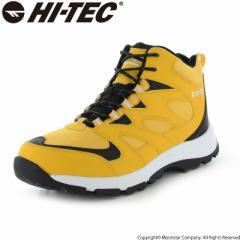 〔10%OFFクーポン配布中☆8/1まで〕≪セール≫ハイテック メンズ/レディース トレッキングブーツ 靴 HKU25W LOCHNESS WP イエロー ウィン