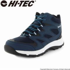 〔10%OFFクーポン配布中☆8/1まで〕≪セール≫ハイテック メンズ/レディース トレッキングブーツ 靴 HKU25W LOCHNESS WP ネイビー ウィン