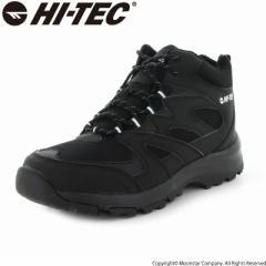 〔10%OFFクーポン配布中☆8/1まで〕≪セール≫ハイテック メンズ/レディース トレッキングブーツ 靴 HKU25W LOCHNESS WP ブラック ウィン