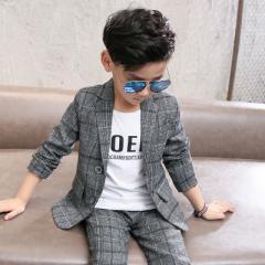 キッズスーツ 男の子 子供服 2018年新作春物 小中学生 リングボーイ フォーマル スーツセット