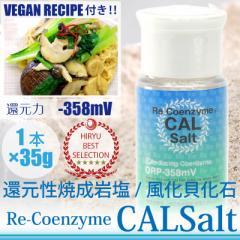 CAL Salt カルソルト 1本×35 g細粒  ヒマラヤ岩塩 測定検査書付 ヴィーガンレシピ付