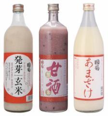 国菊 甘酒3種セット