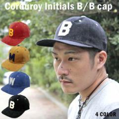 ae44135da3fb7 ベースボールキャップ コーデュロイ地使用 B/Bキャップ CAP 帽子 男女兼用 メンズ レディース