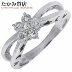 ポンテヴェキオ K18WG ダイヤ0.30ct 指輪(リング) 7.5号