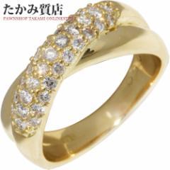 K18YG ダイヤ0.50ct 指輪(リング) 11.5号