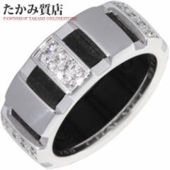 ショーメ K18WG/ラバー ダイヤ40P クラスワンリング(SM) 指輪(リング) #46(6号)
