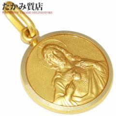UNOAERRE(ウノアエレ) K18YG ペンダントトップ キリスト