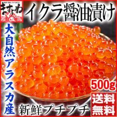 [北海道加工]新鮮なアラスカ産いくら醤油漬け500g(イクラ丼約6杯分)[チャム子][いくら/イクラ]