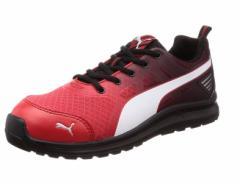 プーマセーフティ マラソン・レッド・ロー  25.5cm PUMA SAFETY Marathon Red Low  25.5(No.64.336.0-25.5) 【安全靴・作業用靴】