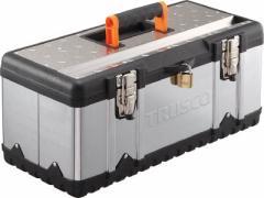 【送料無料!工具箱が激安特価】TRUSCO ステンレス工具箱 Sサイズ TSUS3026S [389-4851] 【スチール製工具箱】[TSUS-3026S]