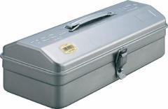 【送料無料!工具箱が割引価格】TRUSCO 山型ツールボックス シルバー Y350 [303-6588] 【スチール製工具箱】[Y-350]