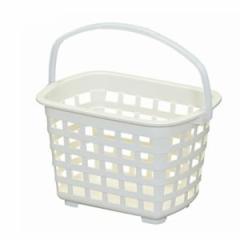 アイリスオーヤマ【IRIS】ランドリーバスケット LB-42(アイボリー)★【洗濯物入れ】