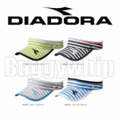 レディース W サンバイザー DIADORA ディアドラ DTA7742