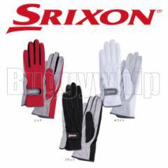 レディス グローブ 両手セット SRIXON スリクソン ブラック ホワイト レッド SGG-0500
