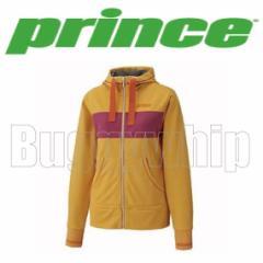 レディース フードジャケット Prince プリンス テニス ゴールドイエロー M WL4660-077
