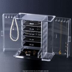 ジュエリチェスト&ネックレスキーパー 送料無料 リング収納 おまけ付 ネックレスケース ジュエリーボックス アクセサリーケース