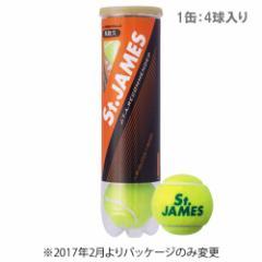 ダンロップ [DUNLOP] テニスボール St.JAMES(セントジェームス) 1缶(4球入)