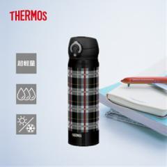 サーモス 水筒 人気 おしゃれ  500ml  THERMOS 真空断熱ケータイマグ/JNL-502Gブラックチェック(BKC)1 運動会
