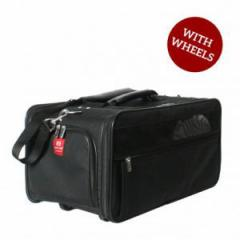 キャリーバッグ Bark n Bag Wheeled Jetway Classic Black