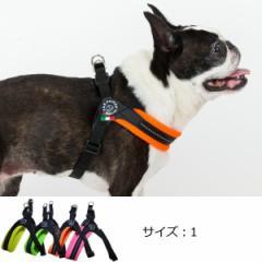 犬 ハーネス 小型犬用 トレ・ポンティ Fibbia Soft Mesh adjustable type(フィッビア ソフトメッシュアジャスタブルタイプ) 1サイズ