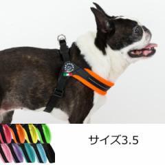 小型犬用ハーネス トレ・ポンティ Fibbia Soft Mesh adjustable type(フィッビア ソフトメッシュアジャスタブルタイプ) 3.5サイズ