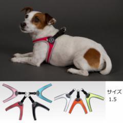犬 ハーネス 小型犬用 トレ・ポンティ Fibbia(フィッビア) 1.5サイズ