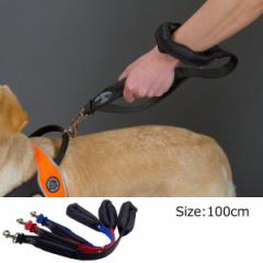 犬 リード 中型犬・大型犬用 トレ・ポンティ Double Safety Handle Leash 100m