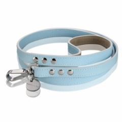 サフィアーノ ベイビーブルー 小型犬用リード