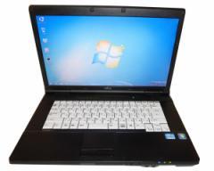15型 ワイド液晶搭載 大画面 日本製 富士通 a561ノート 中古 パソコン Windows Win7&Win10選択可能 メモリ2GB OPEN OFFICE付 無線LAN