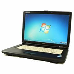 15型 ワイド液晶搭載 大画面 日本製 富士通 a540ノート 中古 パソコン Windows 7 メモリ2GB HDD160GB以上 OPEN OFFICE付 無線LAN