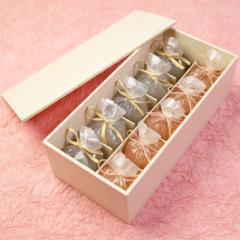 送料無料 父の日 ギフト スイーツ 恋桜(こいざくら)5個・葛まんじゅう(小豆)5個 木箱入り 可愛い桜のひとくち羊羹 京都 和菓子 京