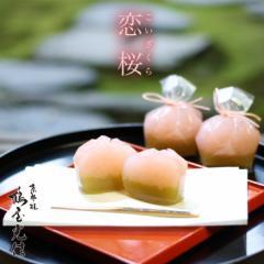 父の日 ギフト 恋桜 5個入 可愛い桜のひとくち羊羹 京都 和菓子 京菓子 お土産用 心ばかり