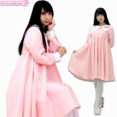 1124A★M【送料無料・即納】 セーラー服 ピンクセーラー サイズ:M/BIG コスチューム コスプレ