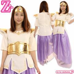 1267G▼【送料無料・即納】 笑ってもいいんだよドレス 色:紫 サイズ:UNISEX ももクロ コスプレ アイドル ももいろクローバーZ 高城れに