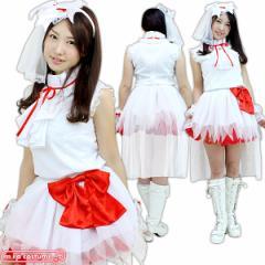 1264J★MB【送料無料・即納】 ももいろアイドル サラバ天使衣装  レッド サイズ:M/BIG